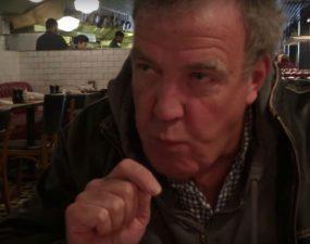 Clarkson je roślinnego burgera