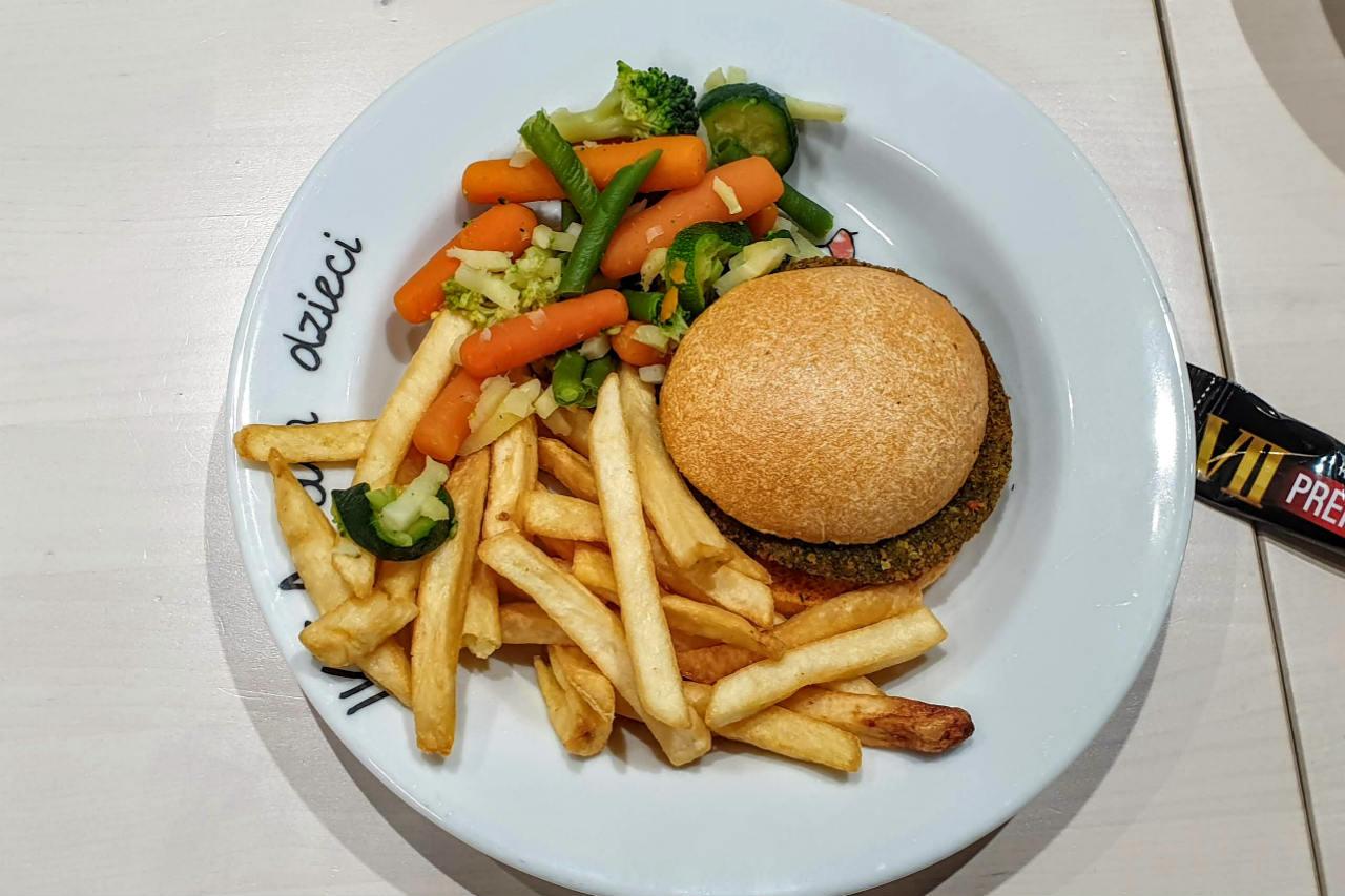 Hamburger vege ikea