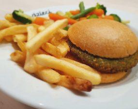 Hamburger wegańsi w IKEA