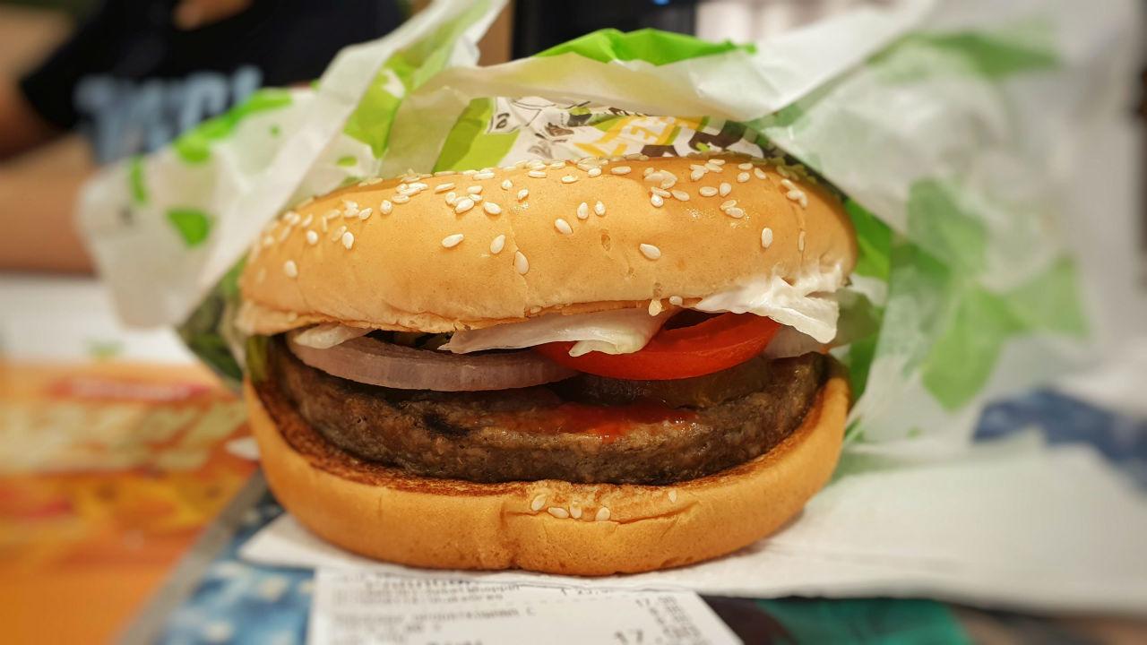 Wegetariaski burger w Burger King