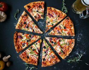 pizza bez mięsa w pizza hut